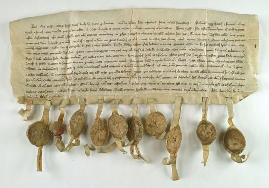 Archiwum Główne Akt Dawnych, Zbiór Dokumentów Pergaminowych, nr 4504