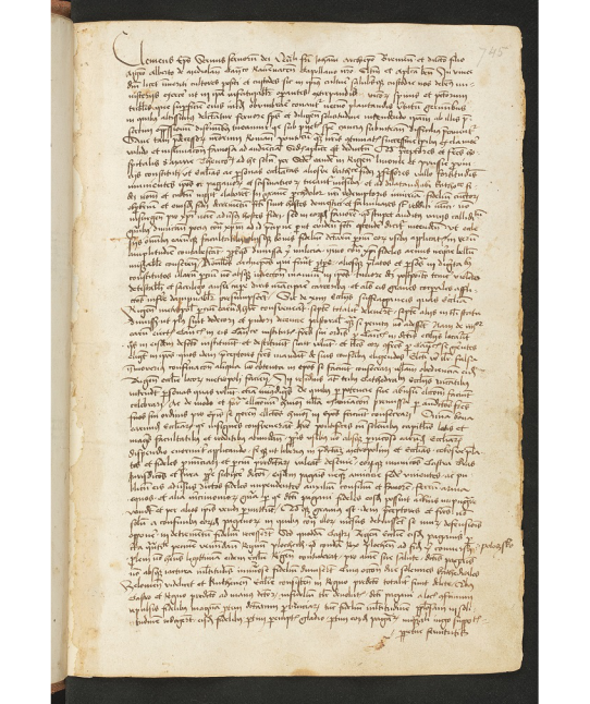 Ioannis Dlugossi, Annales Poloniae ad annum 1406. Autographum