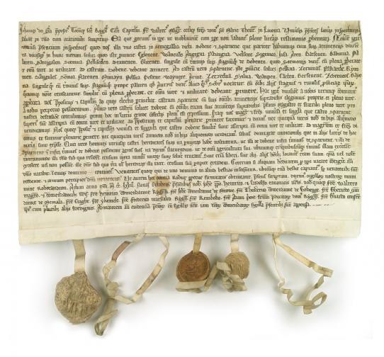 Archiwum Główne Akt Dawnych, Zbiór Dokumentów Pergaminowych, nr 4505