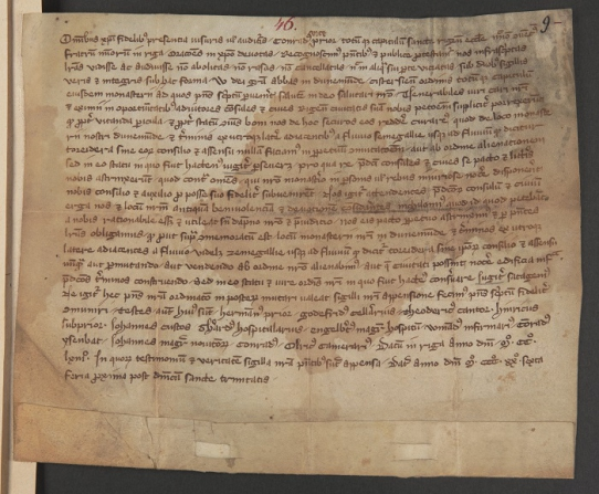 Fundacja XX. Czartoryskich, Zbiór Dokumentów Pergaminowych, 46 Perg., vol. I9