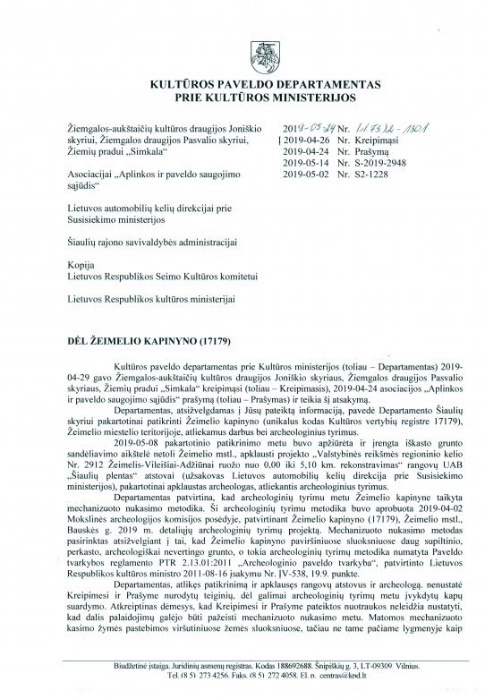 KPD prie KM 2019.05.24 atsakymas