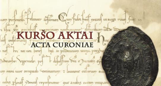 KURSAS AKTI. ACTA CURONIAE