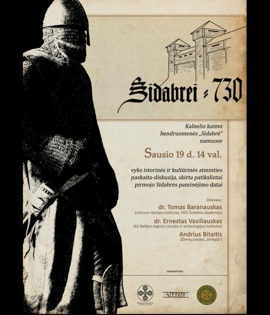 Kultūratmiņas diskusijlekcija par Sidabrenes pirmās pieminēšanas precizēto datumu