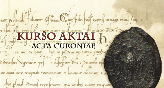 Kuršo aktai. Acta Curoniae