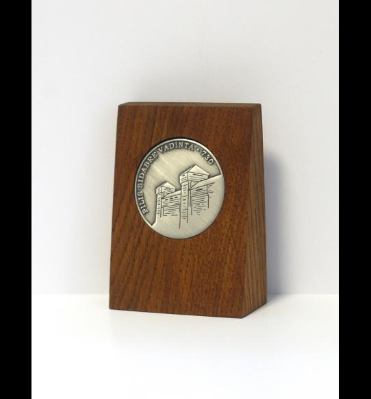 Sidabrės 730 m. minėjimo sukakčiai skirtas medalis