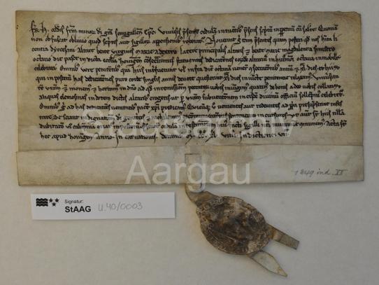 Staatsarchiv Aargau, StAAG U.400003