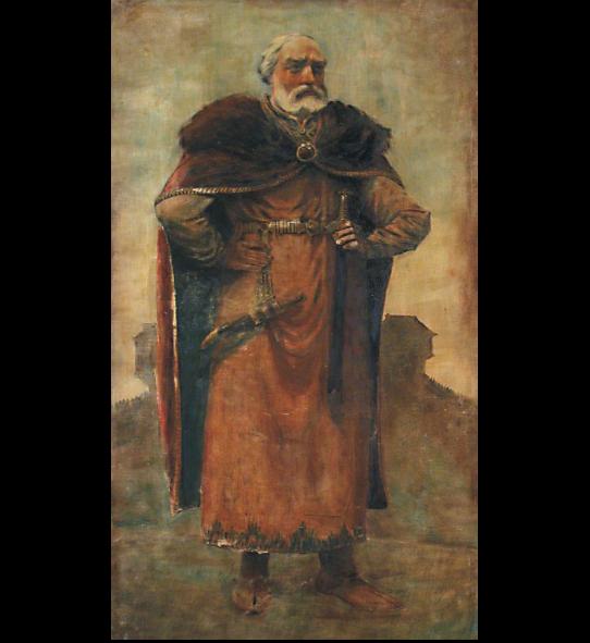 Viestartas. Dailininkas Aleksandras Krūka, 1937 (?) m.