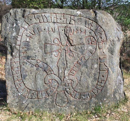 Mervalos runų akmuo (Sö 198, Mervalla)