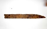 Siauraašmenio kovos peilio fragmentas