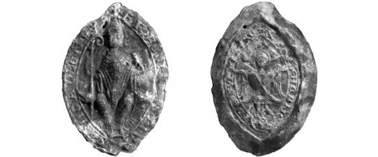 Žiemgalos vyskupo Henriko antspaudas