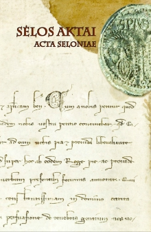 Sėlos aktai. Acta Seloniae